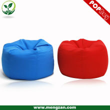 Column soft bean bag ottoman chair, living room smooth bean bag chair