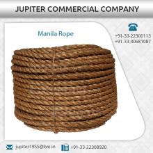 La meilleure corde de manille de qualité utilisée dans diverses industries, artisanat, meuble, suspension | À bas prix
