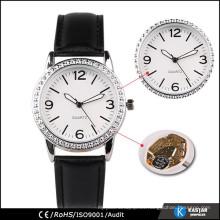Marca reloj fábrica BSCI acero inoxidable de nuevo reloj de moda