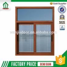 seção de janela deslizante de alumínio de alta qualidade de wanjia