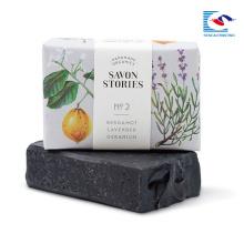 helle Farbe druckte weiche Verpackung für duftende Seife und Geschenk