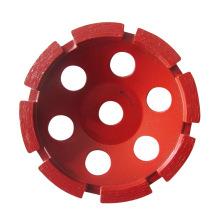 "4"" Turbo Single Row Diamond Grinding Cup Wheel"