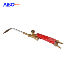 Strong welding capacity brass gas welding torch for industrial portable gas torch