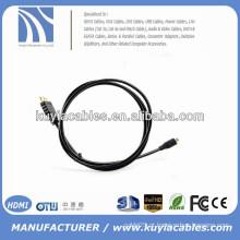 Alta qualidade 1.4V HDMI para cabo HDMI 5ft 1.5M 1080P HD TV Video Out Cabo