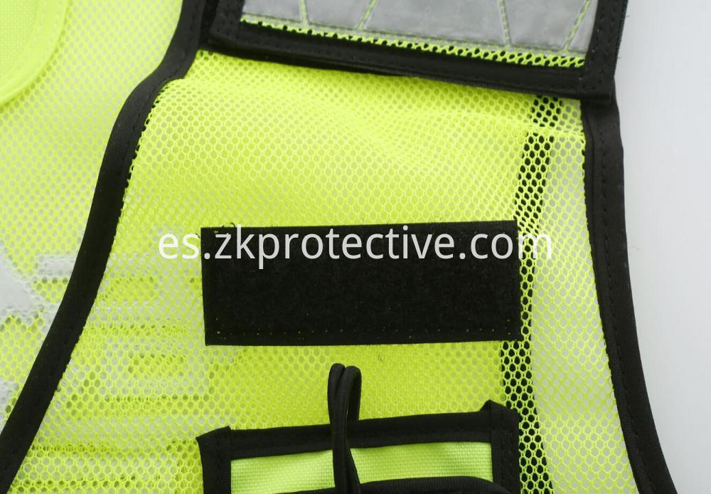 Safety Police Jackets Velcro