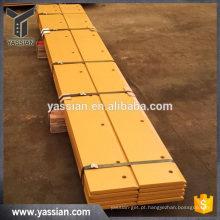Fabricação na China de peças de carregamento de pá carregadora wearable de alta qualidade peças de reposição do carregador de rodas tratadas com calor
