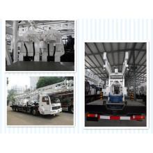 Plataforma de perfuração de poços montados em caminhão