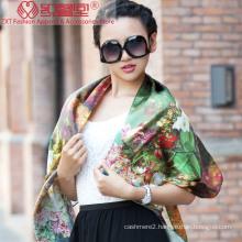 Digital Printed Silk Shawl