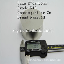 Ndfeb Magnet 70x30 - Manufacturer Supply