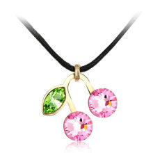 OUXI Factory price cheap necklace jewelry fashion with Austria Crystal