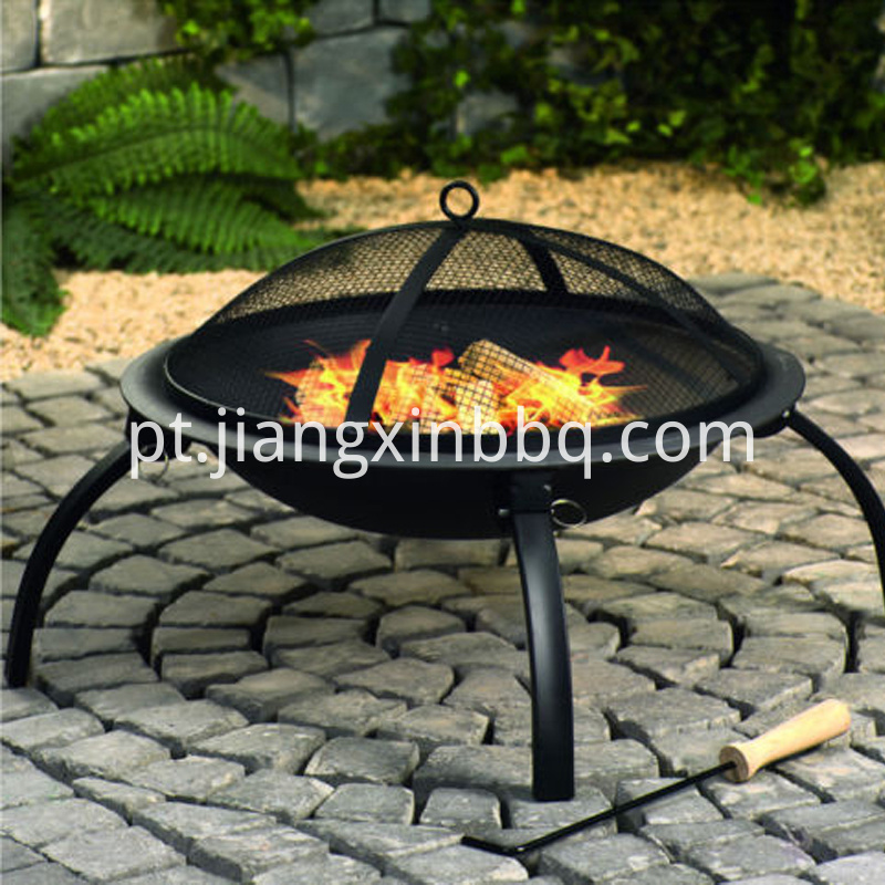 Folding Steel Fire Pit And Bbq
