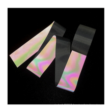 Selling color reflective polyester fabric for fashion clothing jacket