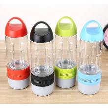 Haut-parleurs promotionnels de Bluetooth de bouteille de sports en vrac