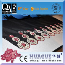 HUAGUI single head two color hot fix diamond application machine used in print fabric