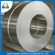 Bobina / tira de aluminio de 0.77mm 90m m de la anchura 5052 H32 ex-acción
