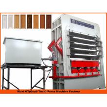 Деревообрабатывающее оборудование вакуумное ламинирование / гидравлическая машина для горячего прессования дверей