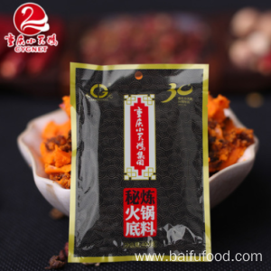 Factory provide nice price for Chongqing Spicy Hot Pot  Seasoning Secret hot pot bottom material 400g export to Anguilla Wholesale