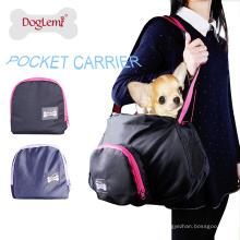 Tragbare einfache Haustier-Träger-Hundekatze-im Freientragetaschen-Handtasche
