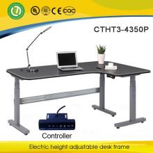 Halifax Healthy Schutz L-Form elektrisch höhenverstellbar Schreibtisch Büromöbel Steh Schreibtisch Executive Office Desk