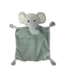 Серое комфортное полотенце для ребенка
