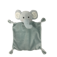 Gray Comfort Towel For Baby
