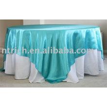 toalha, toalha de mesa do poliéster, toalha de mesa cetim