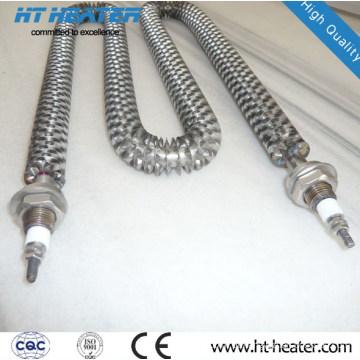 Elemento aquecedor de ar com aletas de alta qualidade