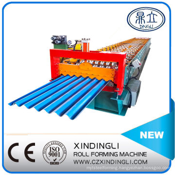 Galvanized Corrugated Roofing Sheet Roll Forming Machinery