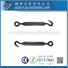 Fabriqué en Taïwan Turnbuckles Iron Iron Turnbuckle Standard Turnbuckle