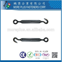 Made in Taiwan Cast Iron Turnbuckles Black Iron Turnbuckle Standard Turnbuckle