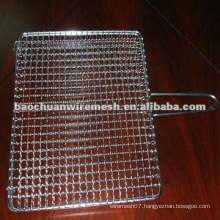 Easily cleaned barbecue wire mesh with competitive price