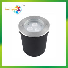 IP67 Waterproof 12V Stainless Steel Cover Aluminum Body LED Underground Light with Niche