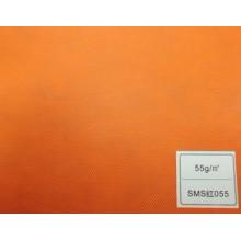 Tecido de SMS (amarelo 55GSM)