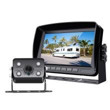 Sistema de câmera de backup com monitor com fio de 7 polegadas