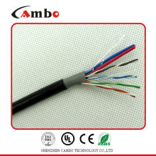 cat6 siamese cable with power ethernet cable