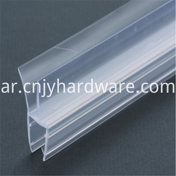 Waterproof Pvc frameless shower door seal
