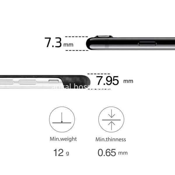 Ultra Slim Carbon Fiber Case Iphone 7