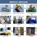 Заводская цена впрыска пластиковый корпус электроники пресс-формы