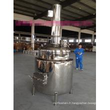 Réservoir de mélange en acier inoxydable avec moteur de certificat UL