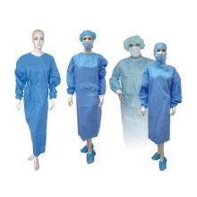 Médico cirujano desechables no tejidas Vestido