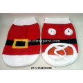 Red Christmas pet clothes
