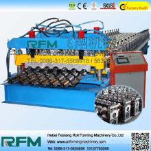 Telha hidráulica FX usa máquina de azulejos
