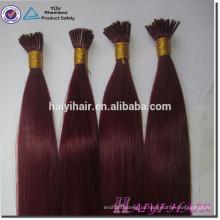 Pre Bonded Stick 100 Remy Cabelo Humano 613 Eu Ponta Cabelo Brasileiro Extensão I Tip Hair