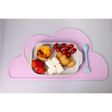 Innovativa Cloud Shape Design Silicone Children Dining Mat
