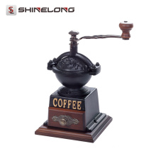 Energy-saving hot selling commercial food safe Vintage Manual Coffee Bean Grinder