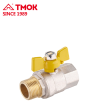 CE certification Female*Male thread Gas valve dn15 for bbq in TMOK