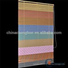Persianas enrollables de aluminio de color arco iris