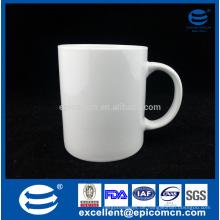 Reines weißes Porzellan Geschirr Trinkwaren kein Druckbecher Fabrik