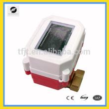 Las válvulas del metro del control remoto del agua caliente de la tarjeta del RF 3.6V para el sistema de calefacción