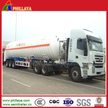 Gas Tanker Truck Semi Trailer / LNG Tank